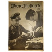 """Wiener Illustrierte"", Nr. 21, 21. May 1941, 24 pages. One more ring and one Tommy  less"