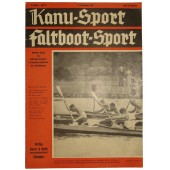 "Magazine ""Kanu-Sport, Faltboot-Sport"", Nr.25, 17. September 1938, 24 pages"