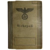 Wehrpaß issued to 16 years old boy, born in 1928 year