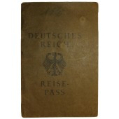 German traveler passport