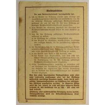 RADwJ a female personnel of the RAD. Postponement document. Espenlaub militaria