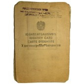 Identity Card, moving inside of occupied Austria after WW2