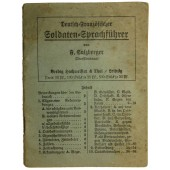 WW1 German-French soldier- phrasebook