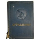 """""""The Artillery"""" - history, and rules of Soviet artillery in pre-war time. Issued in 1938"""