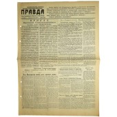 "Newspaper ""Pravda"" 14. July 1944"