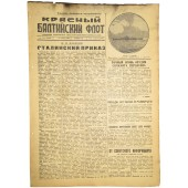 "Newspaper ""Red Baltic Fleet"",  May, 15  1943"