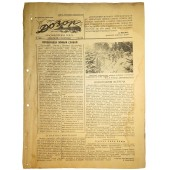 Red Navy newspaper Dozor 4. January 1942. Upon reading, destroy!