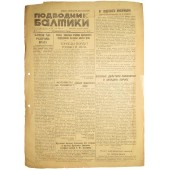The Baltic submariner- newspaper 22. November 1944