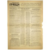 "The newspaper ""Pravda"" 3. November 1944"