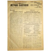 The Pilot, newspaper of the Baltic fleet airforces. January, 24 1944