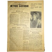 The Pilot, newspaper of the Baltic fleet airforces,  January, 25, 1944.