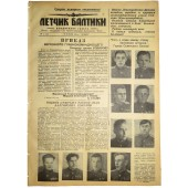 The Pilot, newspaper of the Baltic fleet airforces. January, 27 1944