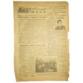 "The Red Navy newspaper ""The Baltic Submariner"" 15. December 1943"