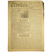 "The Red Navy newspaper ""The Baltic Submariner"", 22. June 1944"