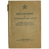 Manual for using fragmentation and anti-tank grenades and Molotov cocktail bottles