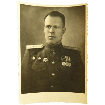 Photo-ID: Personality of the pilot of 37 OAES of 13th Army. Espenlaub militaria