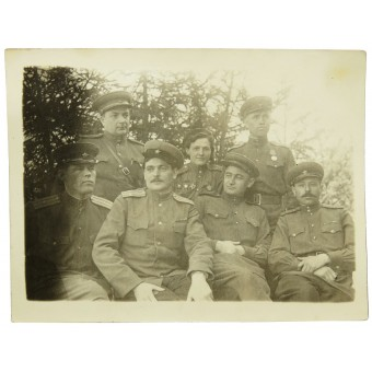 Photo of officers of the HQ of the RKKA. Espenlaub militaria