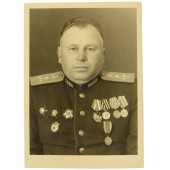 Photo Personality of Colonel Balykin Nikolai Petrovich certified