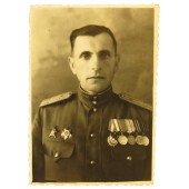 Red Army certified photo: Personality of Lieutenant Colonel Chenovych
