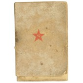 Red Army pay book for Estonian