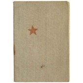 Red Army paybook for Elibeev Baldyr Durievich