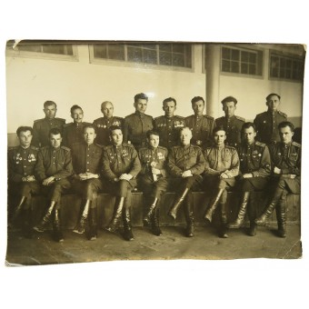 RKKA officers-cadets at high artillery school of the Red Army. Espenlaub militaria