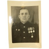 Soviet colonel photo from military file