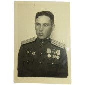 Photo ID of soviet artillery Lieutenant- colonel