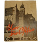 Peoples and Reich. Illustrated magazine from 1937