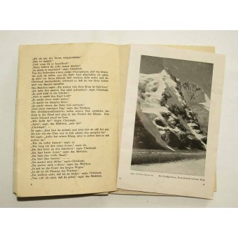 Brochure issued as a gift for German soldiers for Christmas. Espenlaub militaria