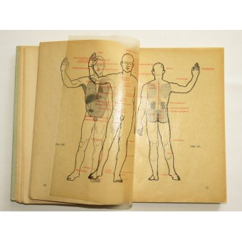 Official Instruction Book on First Aid. Espenlaub militaria