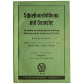 Rifle manual for shooting from German rifle k98