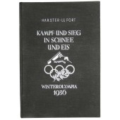 The book about the Winter Olympiс games in Germany in 1936.