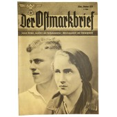 "3 Issue of 1938 ""Der Ostmarkbrief"" propaganda magazine"