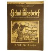"""Der Schulungsbrief"" the propaganda magazine of NSDAP"