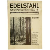 """Edelstahl"" factory issue 1. March 1940. Nummer 3"