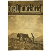 """Der Ostmarkbrief"" April 1939 Propaganda magazine"