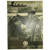 "Official magazine of KdF and DAF ""Arbeitertum"" 1. February 1940, Folge.21"