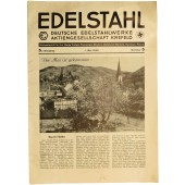 "The ""Edelstahl"" magazine 1. May 1940. Nummer 5."