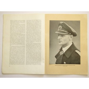 Printed in Riga illustrated magazine Ostland. Espenlaub militaria