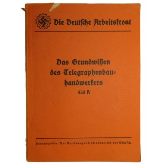 DAF Tech reference book: Basic knowledge of telegraph construction. Espenlaub militaria