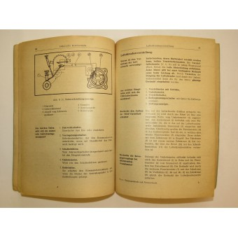 Luftwaffe mechanics book Aircraft Electrics and Precision Mechanics. Espenlaub militaria
