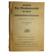 "Reibert ""Der Dienstunterricht im Heere"" with no cover"