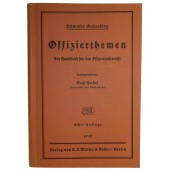 "Wehrmacht officer instruction book. ""Offizierthemen"""