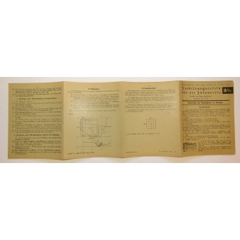 Wehrmacht -Training manual for reading maps on the cross country.. Espenlaub militaria