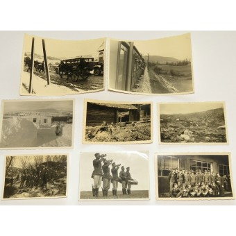 A set of different German wartime photos. Mostly mountain troops- Gebirgsjage. Espenlaub militaria