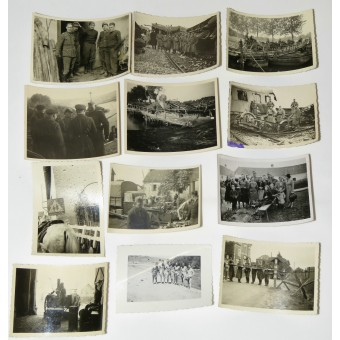 German soldiers photos, mostly Polish and French campaigns. Espenlaub militaria