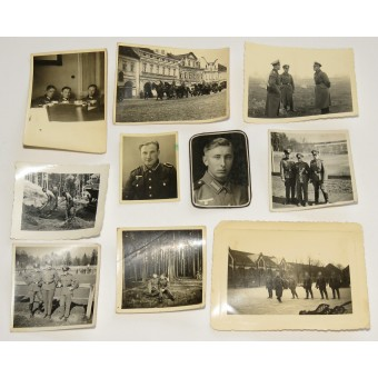 Photos of a German soldier from the 25th artillery regiment. Espenlaub militaria