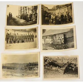 Photos from the period of WW2- Slutsk and its area- Belorussia. Espenlaub militaria
