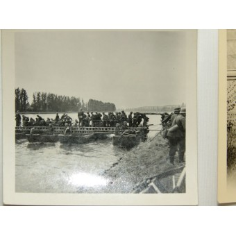 Photos by Hauptmann Warnberger from the 3rd company of the Bau-Bataillon 56. Espenlaub militaria